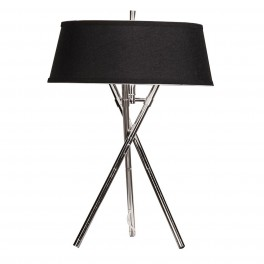 Small Tripod Lamp Black Shade