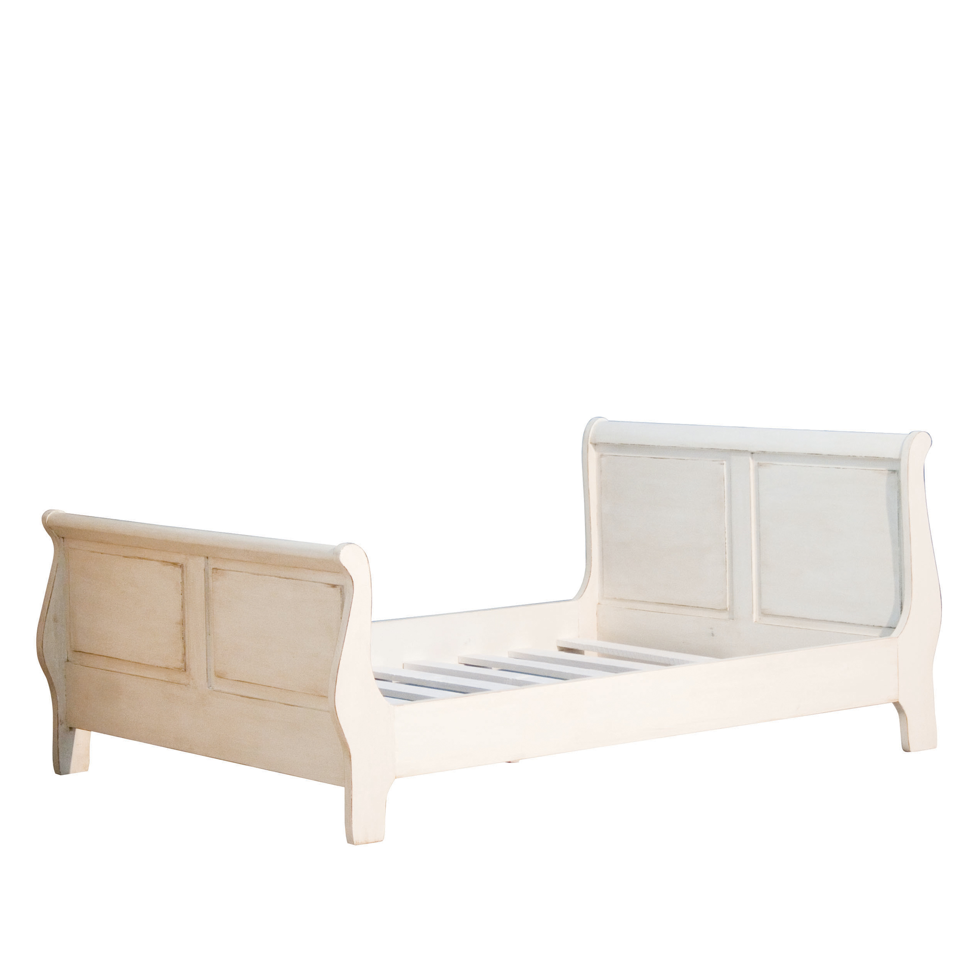French Sleigh Single Bed