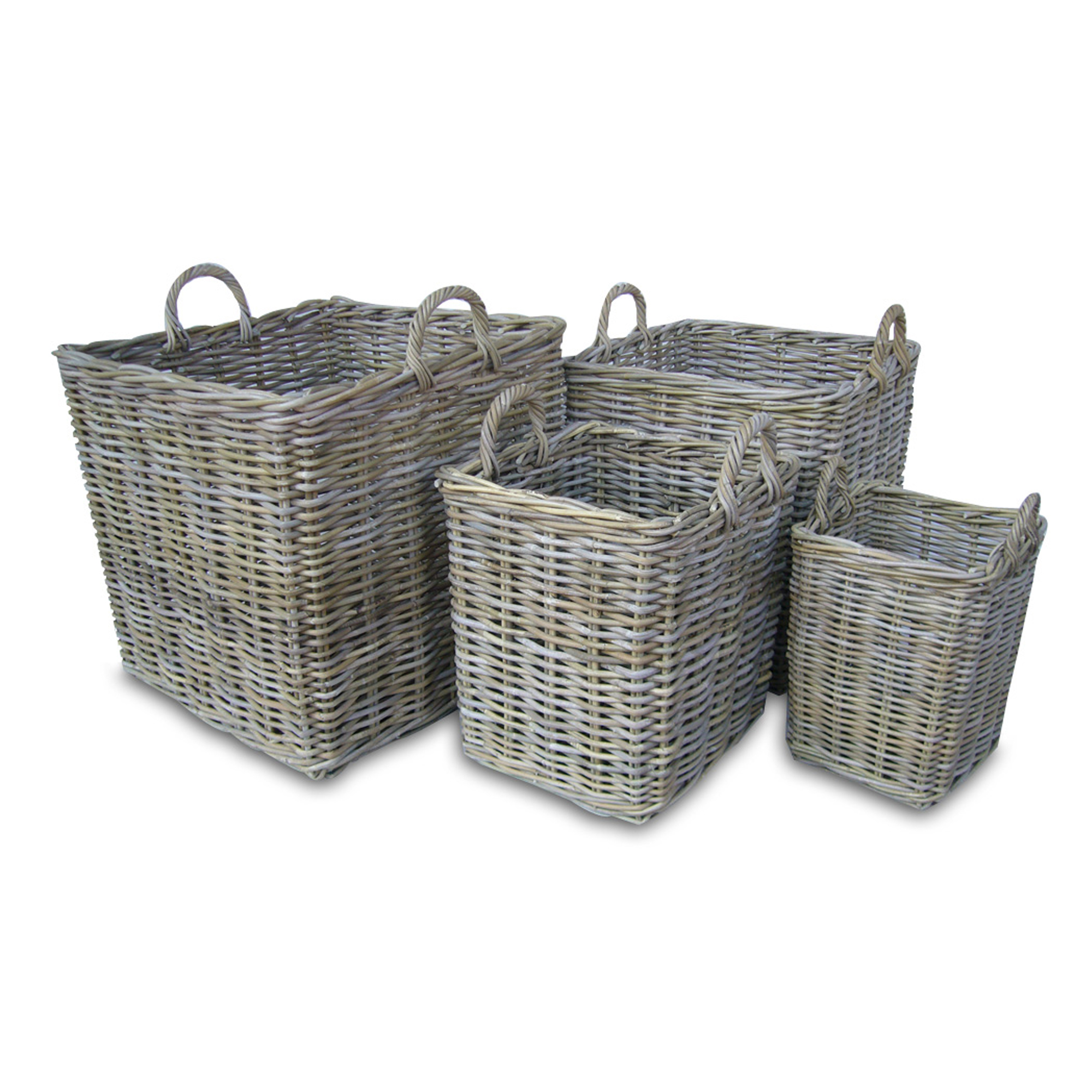 Rattan Basket Square