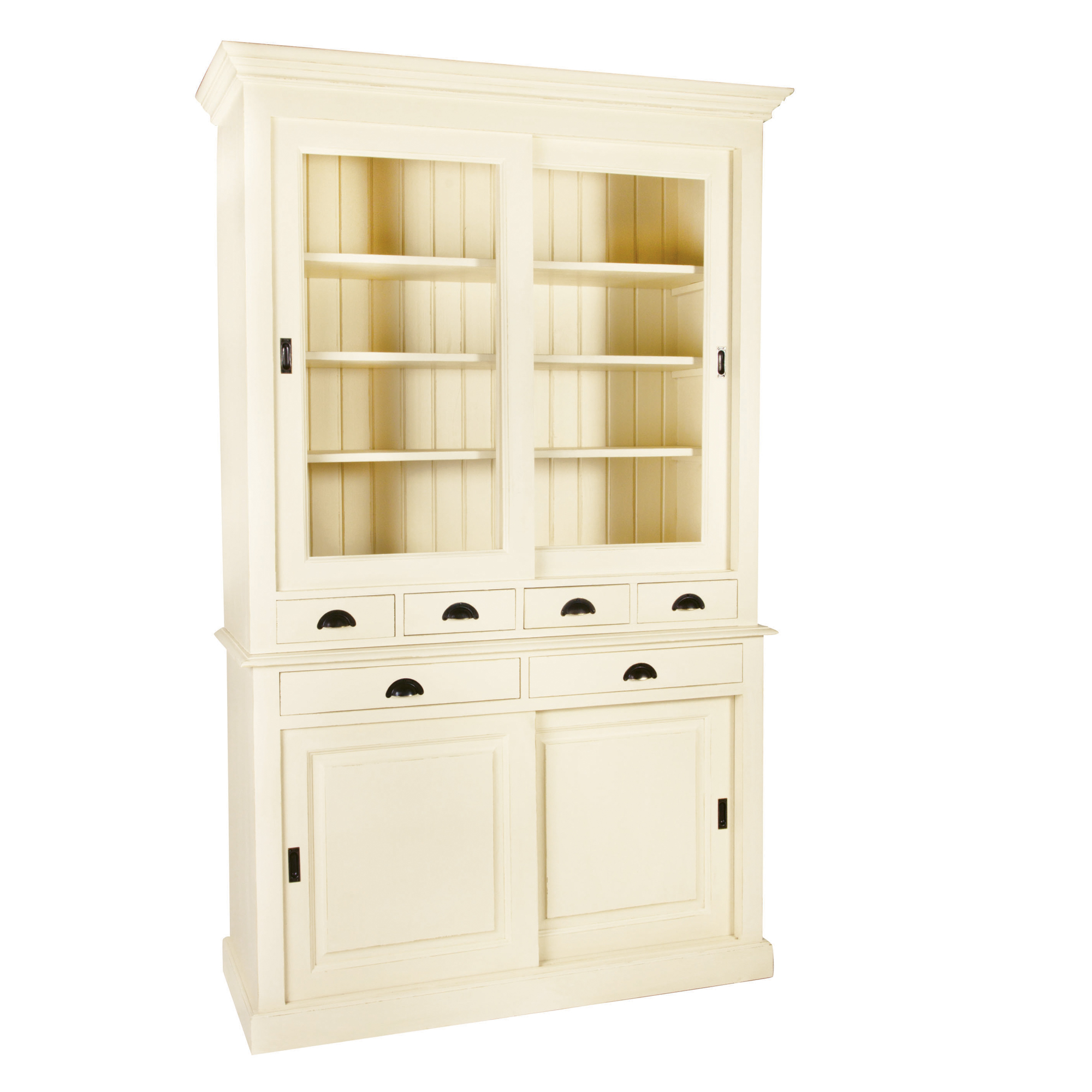 French Sliding Glazed Door Dresser