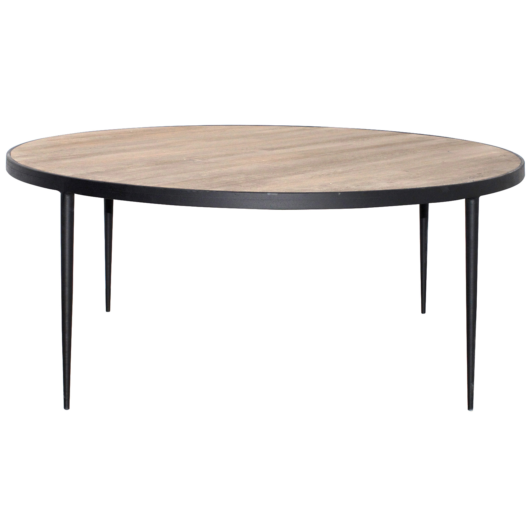 Large round coffee tables Wide coffee table