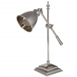 Nickel Task Table Lamp