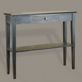painted console table. French Console One Drawer Painted Table