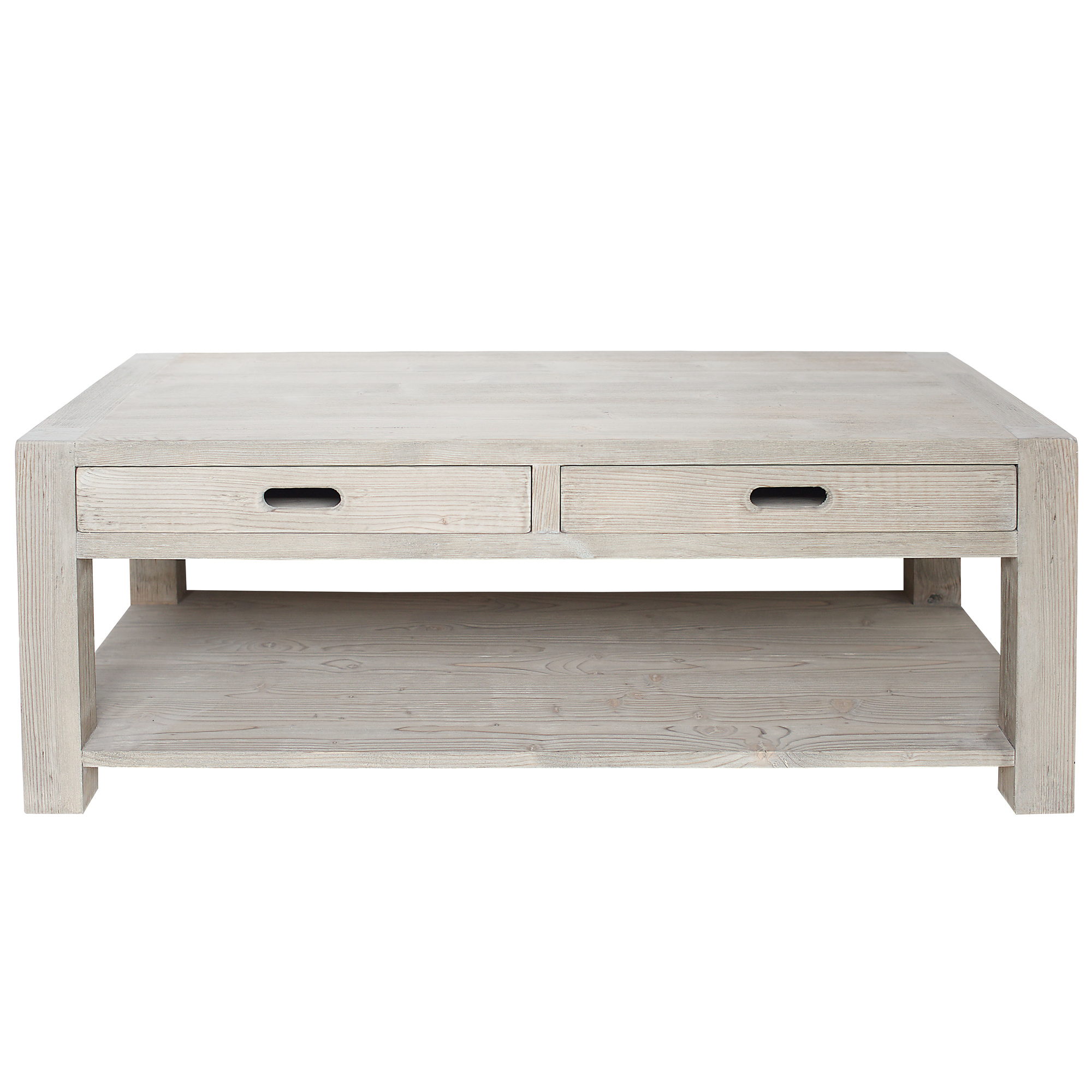 Coffee Table With Two Drawers