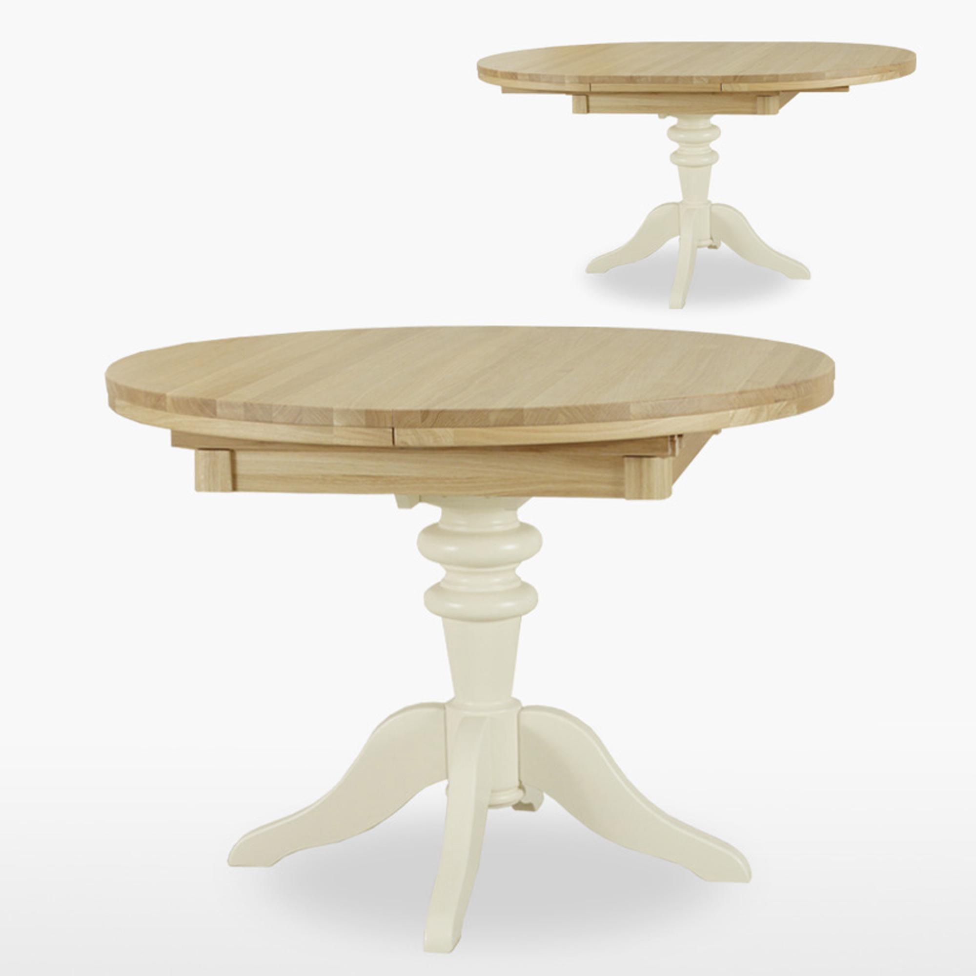 Isla Round Ext Pedestal Table