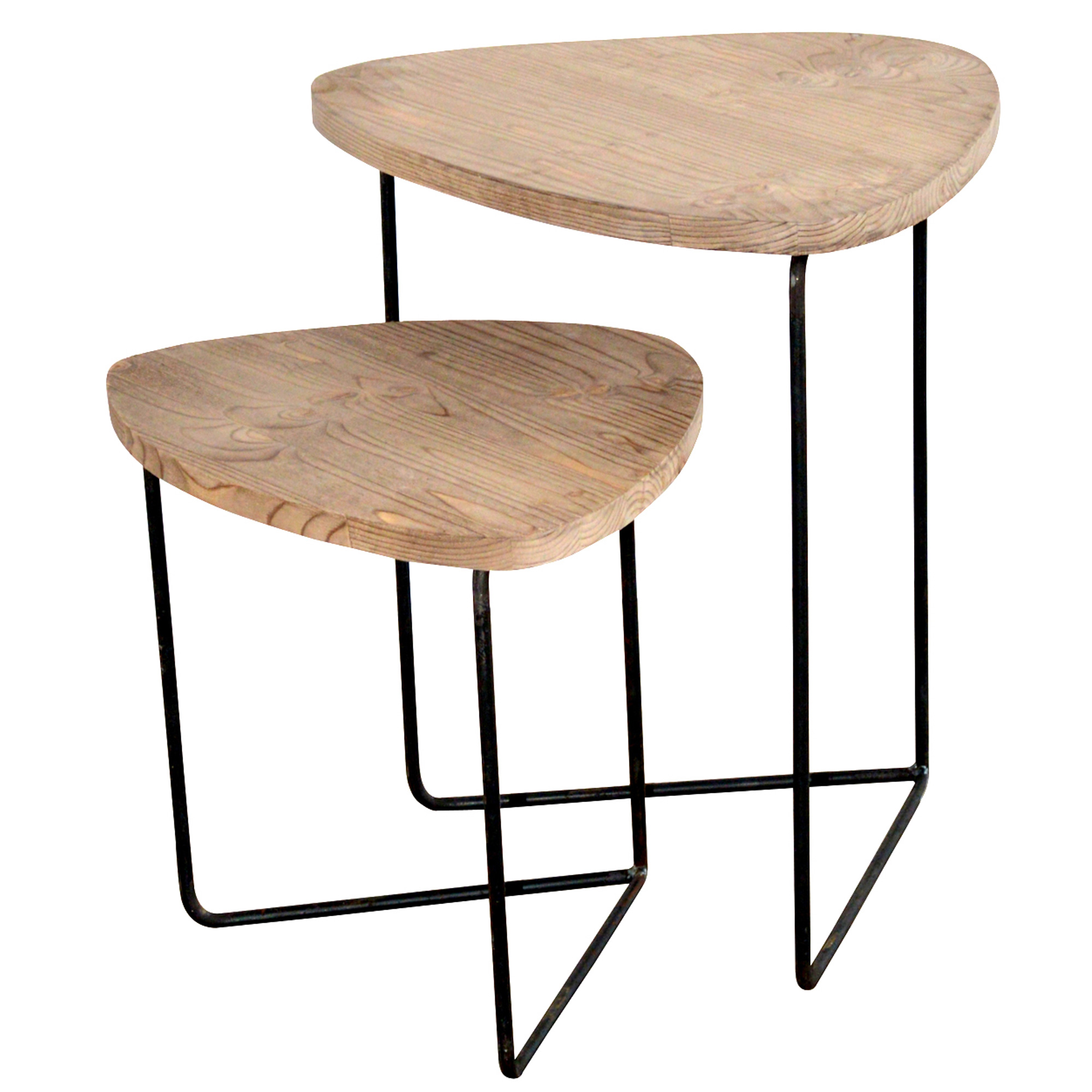 French Set Of Two Coffee Tables