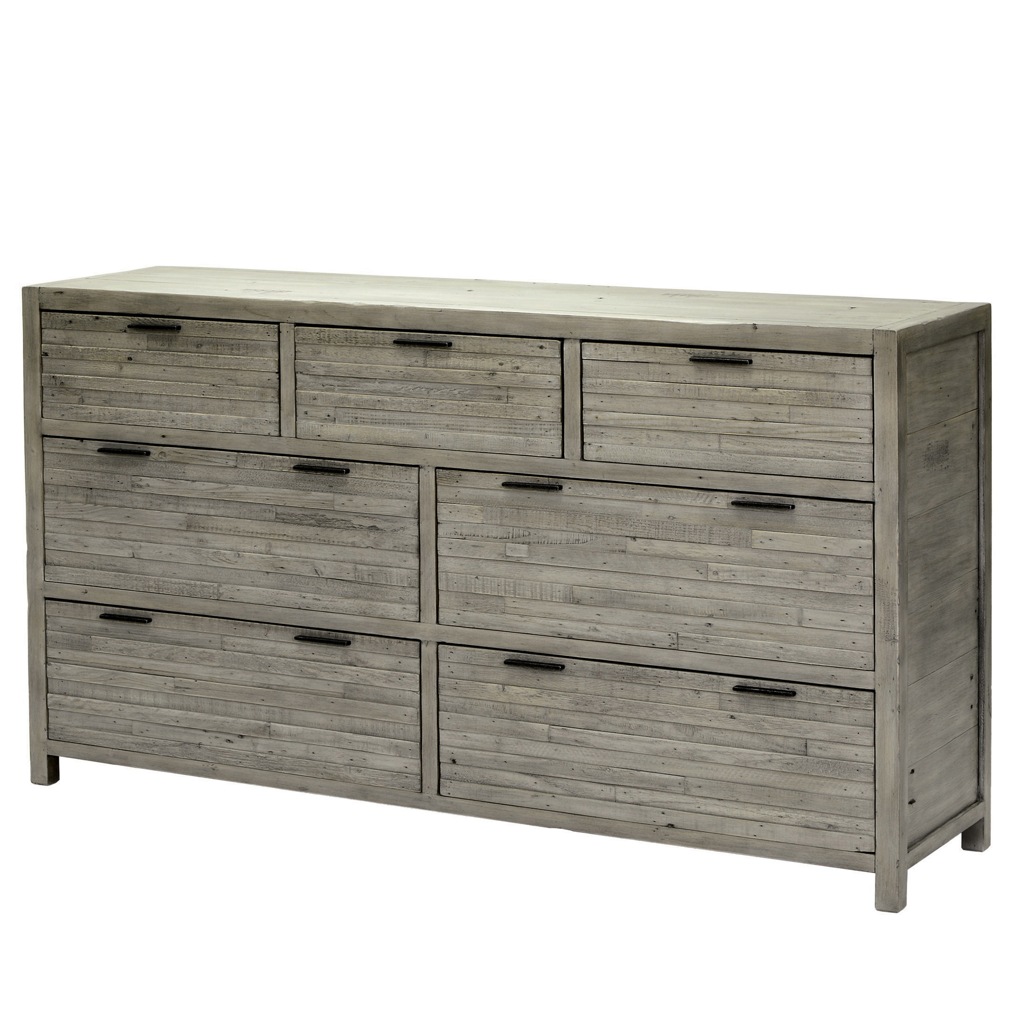Siena Seven Drawer Wide Chest