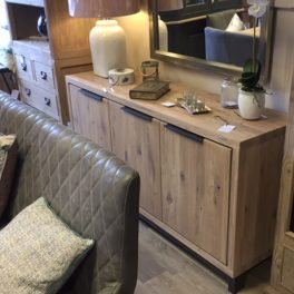 Stone Sideboard 3 Door