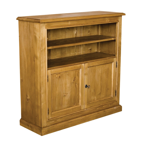 French Bookcase with Cupboard