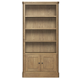 York Tall Bookcase with Cupboard