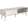 French-Media-Unit-With Sliding Door 1