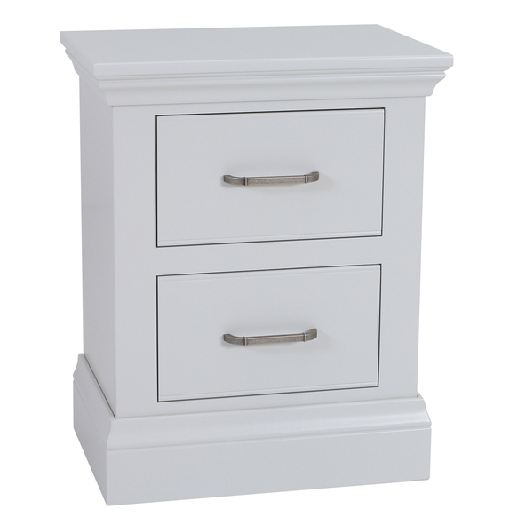 Isla Painted Two Drawer Bedside