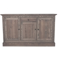 Ashdon Ash Three Door Sideboard