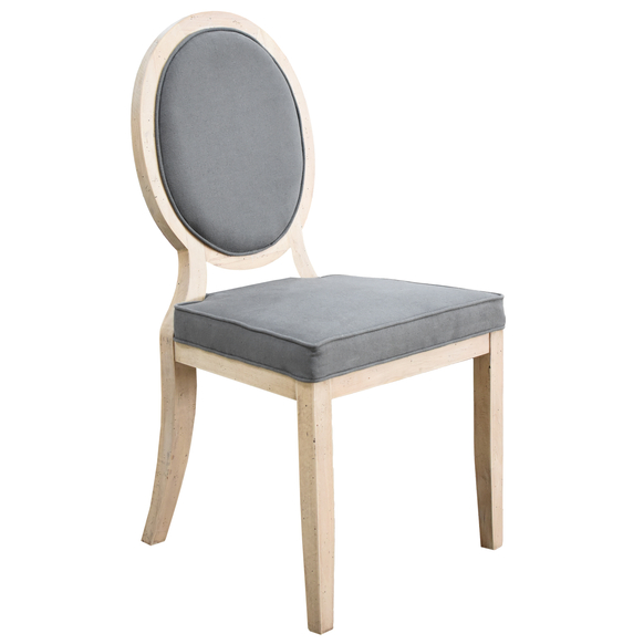 Round Backed Dining Chair