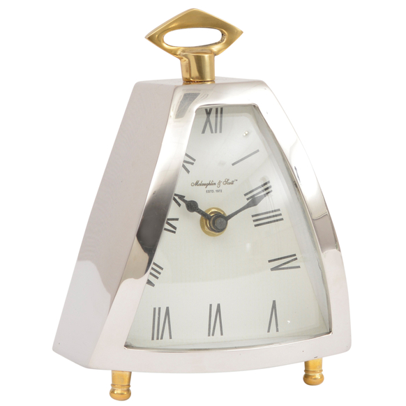 Curved-Front-Mantel-Clock